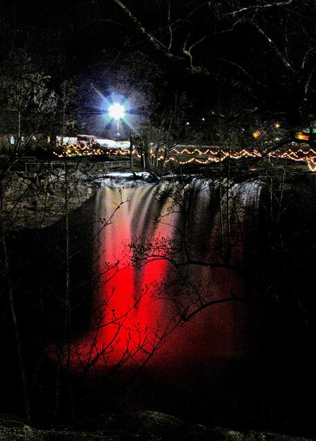 Noccalula Falls Christmas Lights 2020 ipernity: Noccalula Falls at Christmas   by Ceropegia