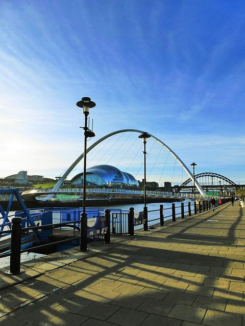 Quayside River Tyne