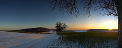 Winterabend (165°)