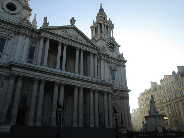 Steps of St.Paul's...