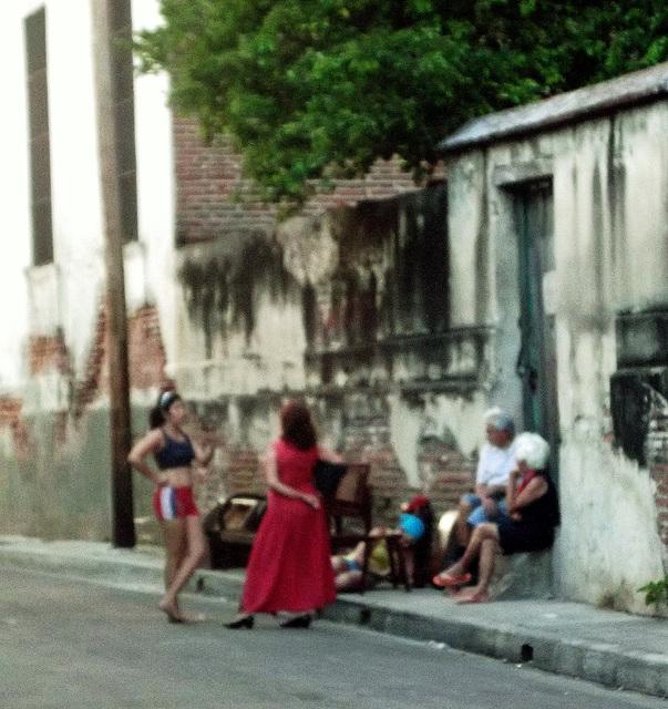 Street chat / Conversation de la rue.