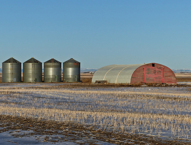 Old and new on the prairies