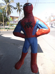 Spiderman au Mexique / In Mexico.