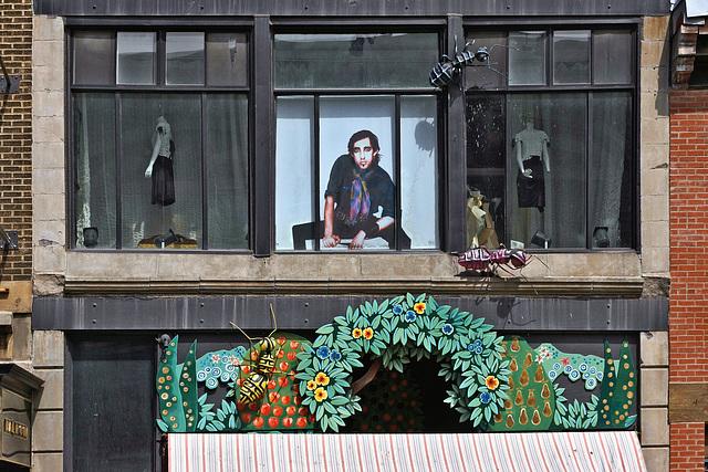 Bug-Eyed About Fashion– Saint-Laurent between Milton and Prince Arthur, Montréal, Québec