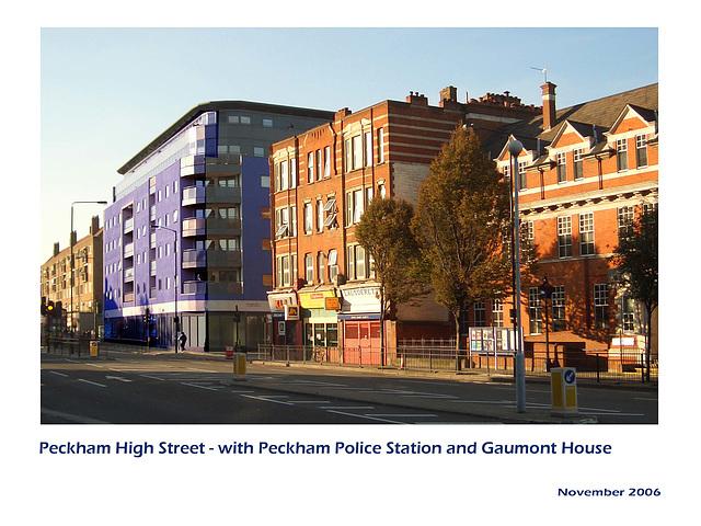 Peckham High Street from South East  - London SE15