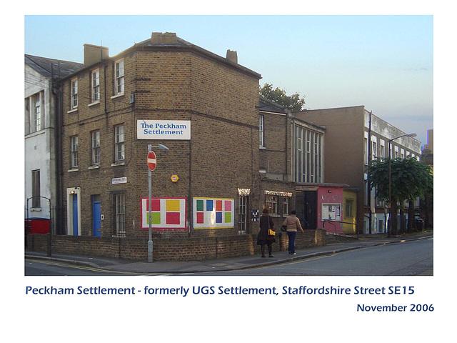 Peckham Settlement - London SE15