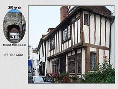 Rye  - 67 The Mint - High Street