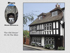 Rye - The Old House 45-6 The Mint