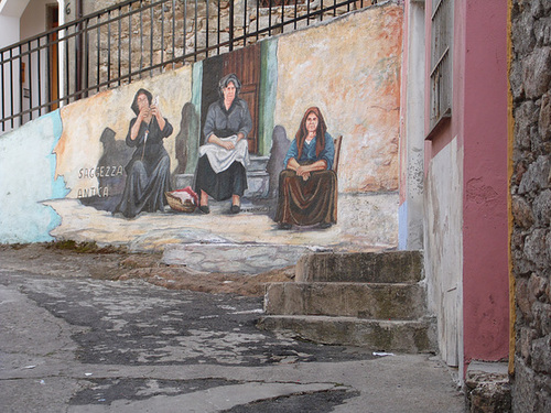 Mural at Orgosolo