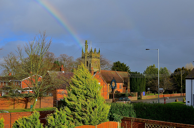 Pot of gold in the church?