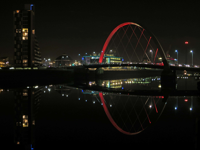 River Clyde on a cold night