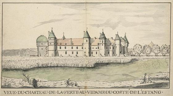 L'ancien château de la Ferté-Vidame en 1695