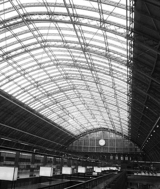St.Pancras Railway station.