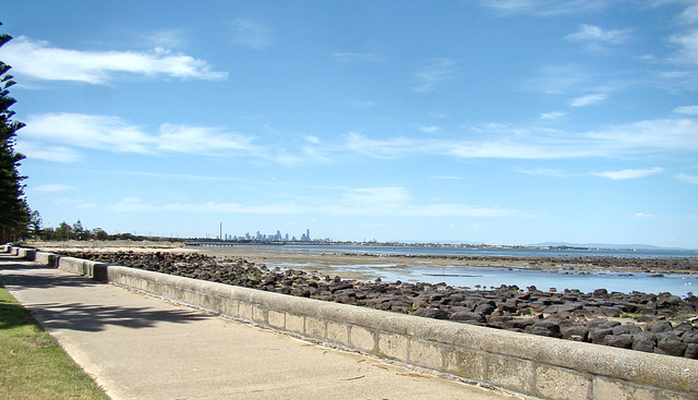 Altona Beach looking East