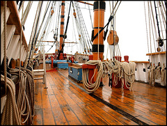 Replica of the Dutch built ship The Hector