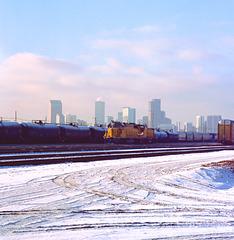 Union Pacific 36th Street Yard