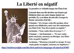 La Liberté en négatif