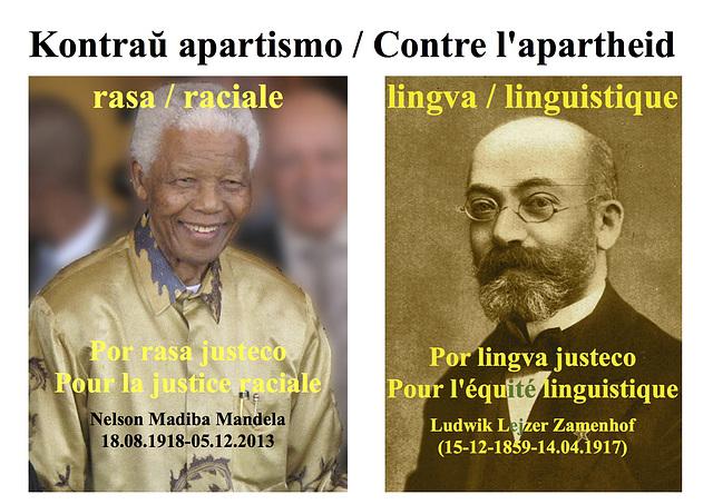 Nelson Madiba Mandela / Ludwik Lejzer Zamenhof