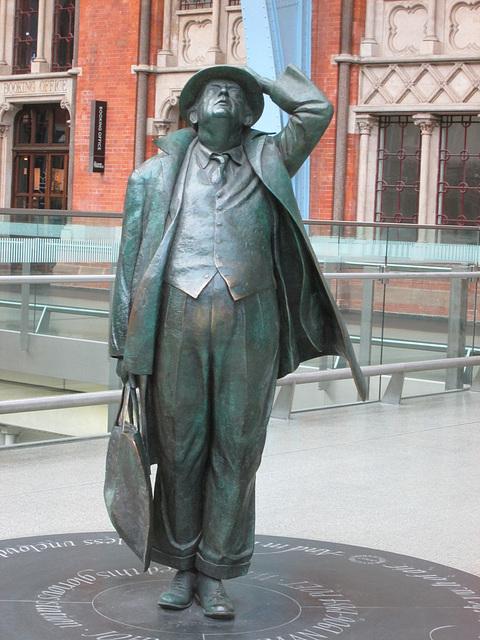 John Betjeman, St.Pancras