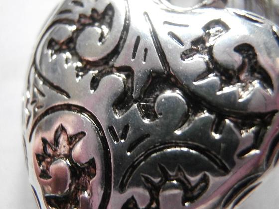 Close up of a bracelet bead