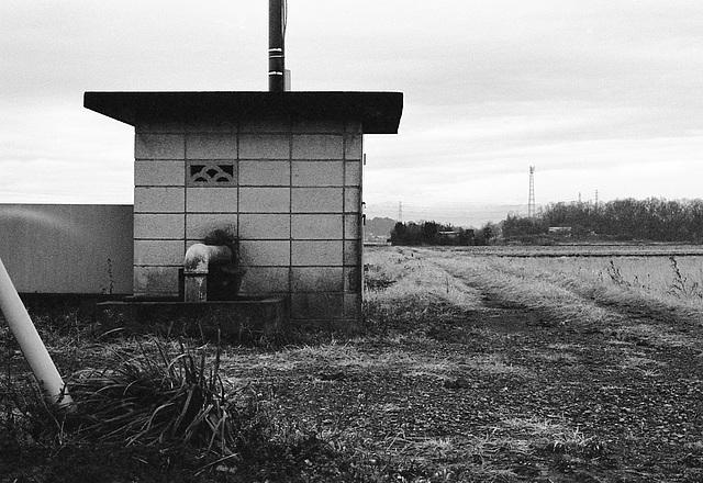 Pump hut