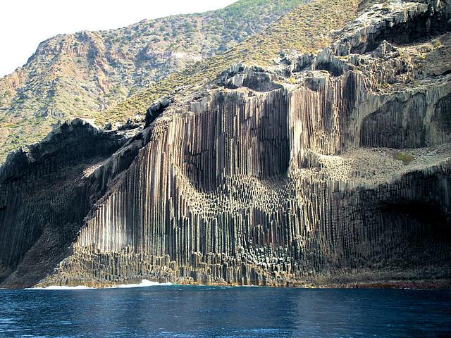 Einblick in die Insel. Los Organos - Die Orgelpfeifen. ©UdoSm