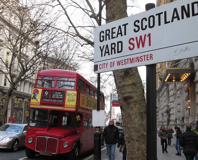 Great Scotland Yard.