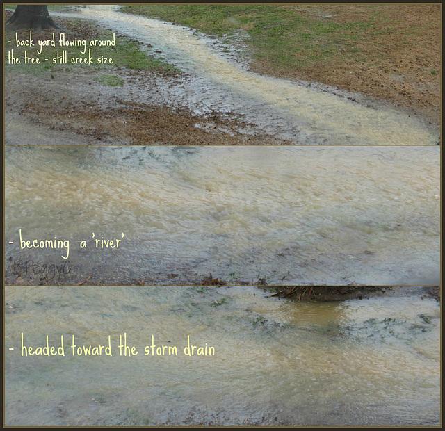a river ..