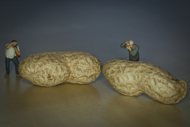 Paul and Dave constantly argued about the size of their nuts but at the end of the day they were still great friends!