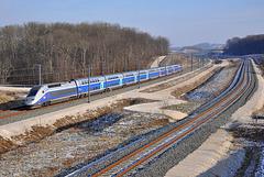 TGV Duplex à Geneuille