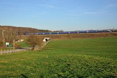 TGV Duplex sur le raccordement Est
