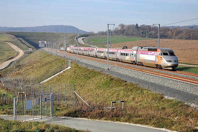 Iris 320 sur LGV Rhin-Rhône