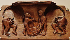 harvest misericord, v. and a. museum