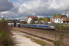 TGV SE à Besançon