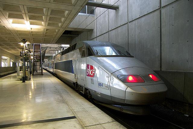 TGV Atlantique à Lille-Europe