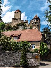 Burg Hornberg - Hornberg Castle (315°)