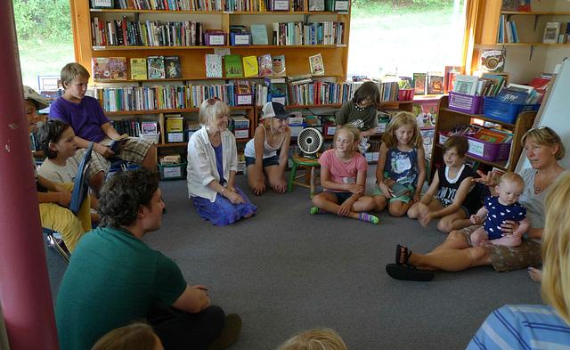 Red Cedar School Visit