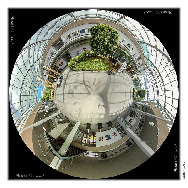 Ausstellungsplanet - Indoor Exhibition Planet