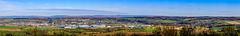 Elsenzniederung und Sinsheim vom Steinsberg (015°)