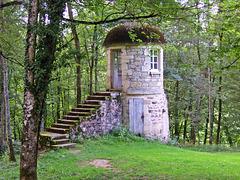 Dans le parc du château de Drée (71)