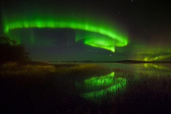 Lumières sur le lac