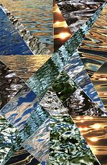 water mosaic