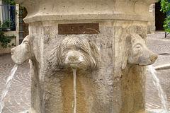Fontaine à Cahors (Lot, France)