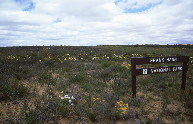 The Frank Hann National Park