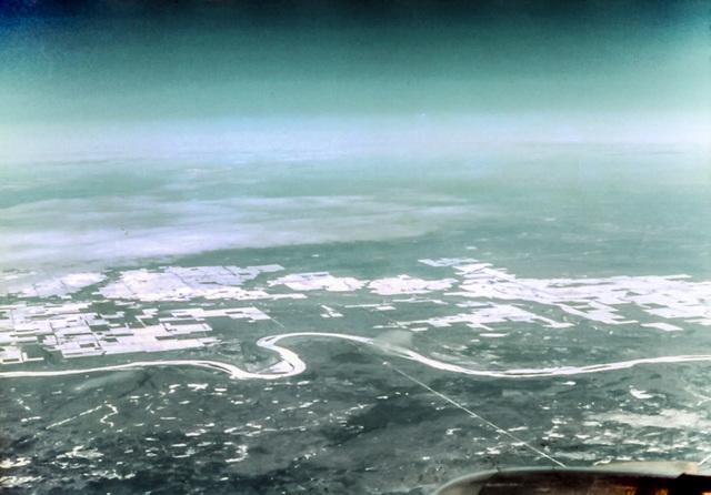 Peace River, Alberta, March 21st. 1978 (270°)