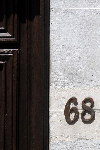 68, soixante-huit - A Lyon, quartier de la Presqu'Ile, Rhône, France