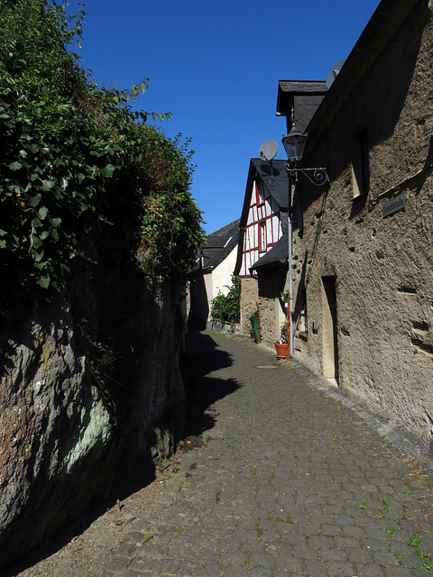 Hinter dem Kloster