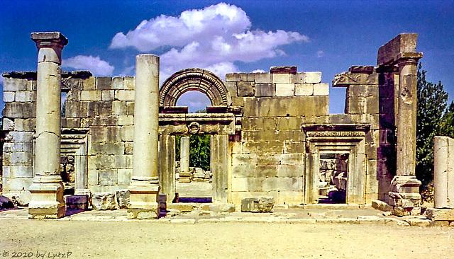 Synagogue of Kfar Biram, 1975