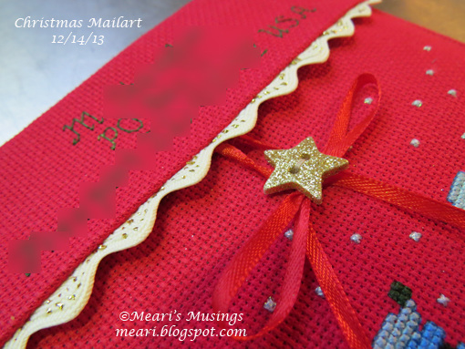 Christmas Mailart 12/14/13