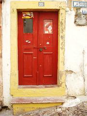 door, old city